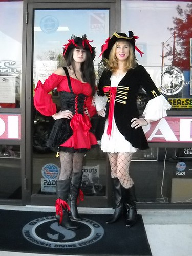 The Wenches of C&J Divers Scuba | by International Talk Like A Pirate Day