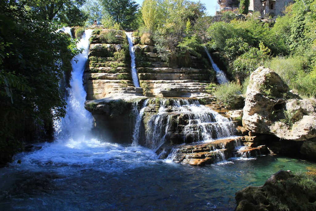 Waterfalls in South of France | Rented a car to visit some