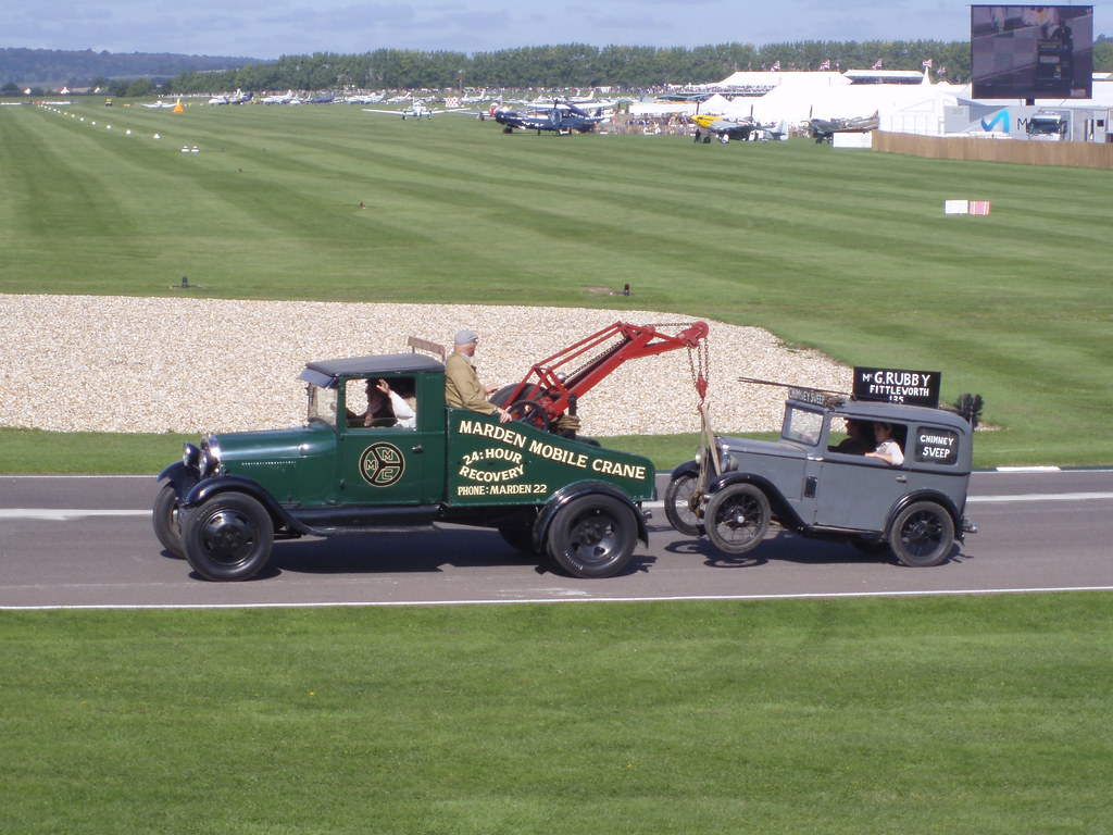 Tow Truck And 1930 Austin