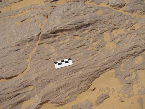 Acanaladuras y surcos eólicos - White Desert (Egipto) - 04