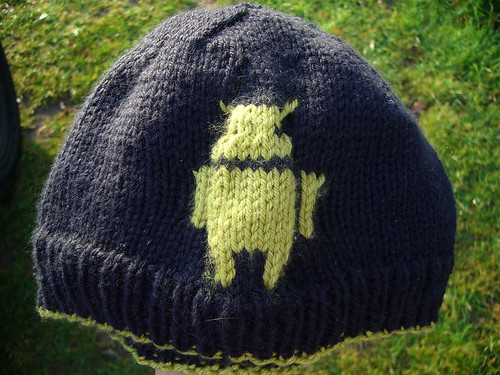 Dan's Android Hat | by Andrea Black (Lacuna)