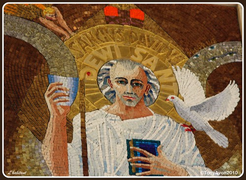 Westminster Cathedral Mosaic Of St David Dewi Sant Whic