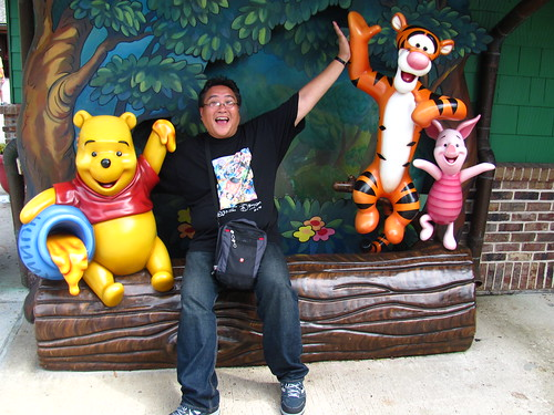 Me at Pooh Corner at Downtown Disney Marketplace | by Castles, Capes & Clones
