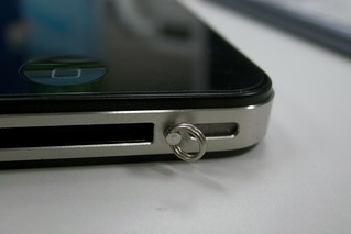 iPhone 4 Strap Ring | by dh