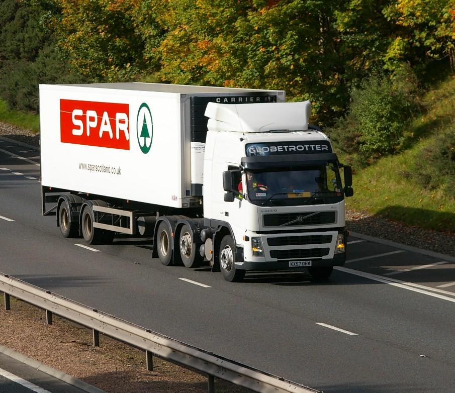Volvo FM-Spar  | KX57 OEW M990 Perth 30/9/2010 | Mike