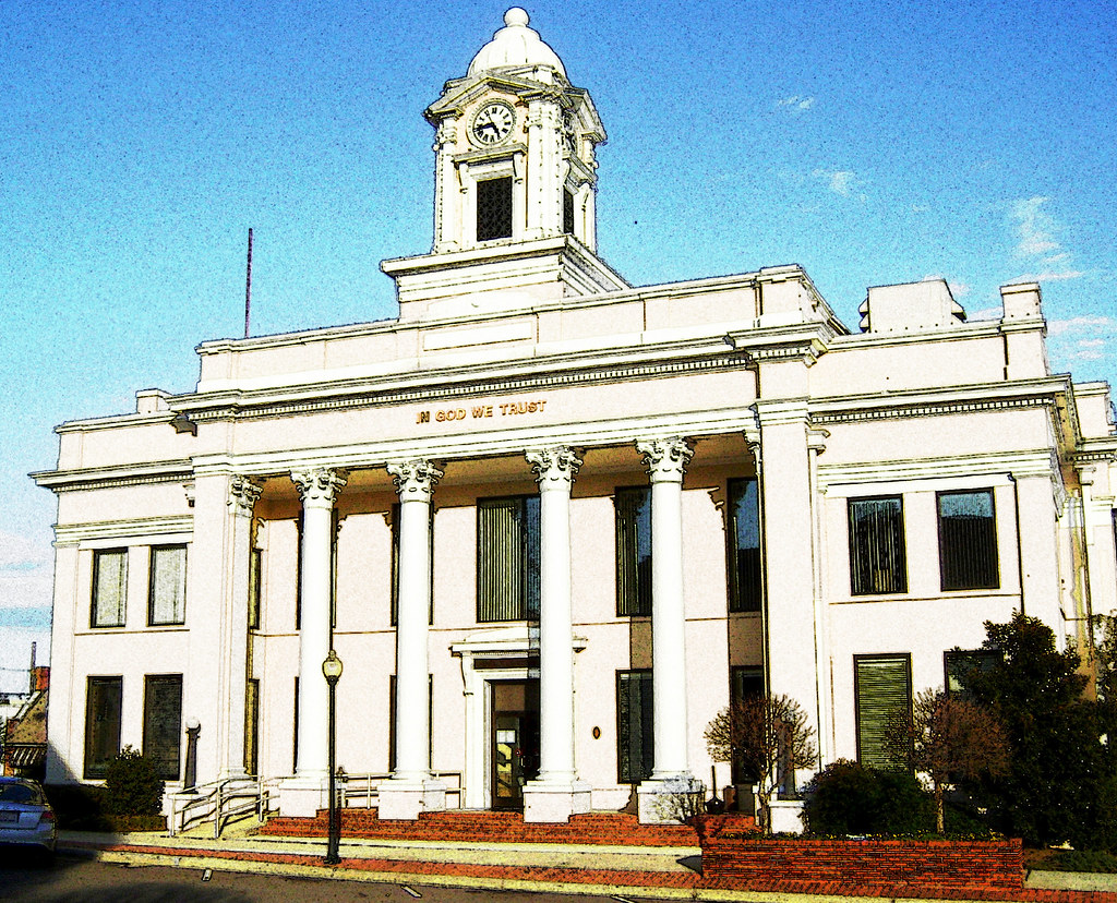 Davie County Courthouse Davie County Mocksville Nc Flickr