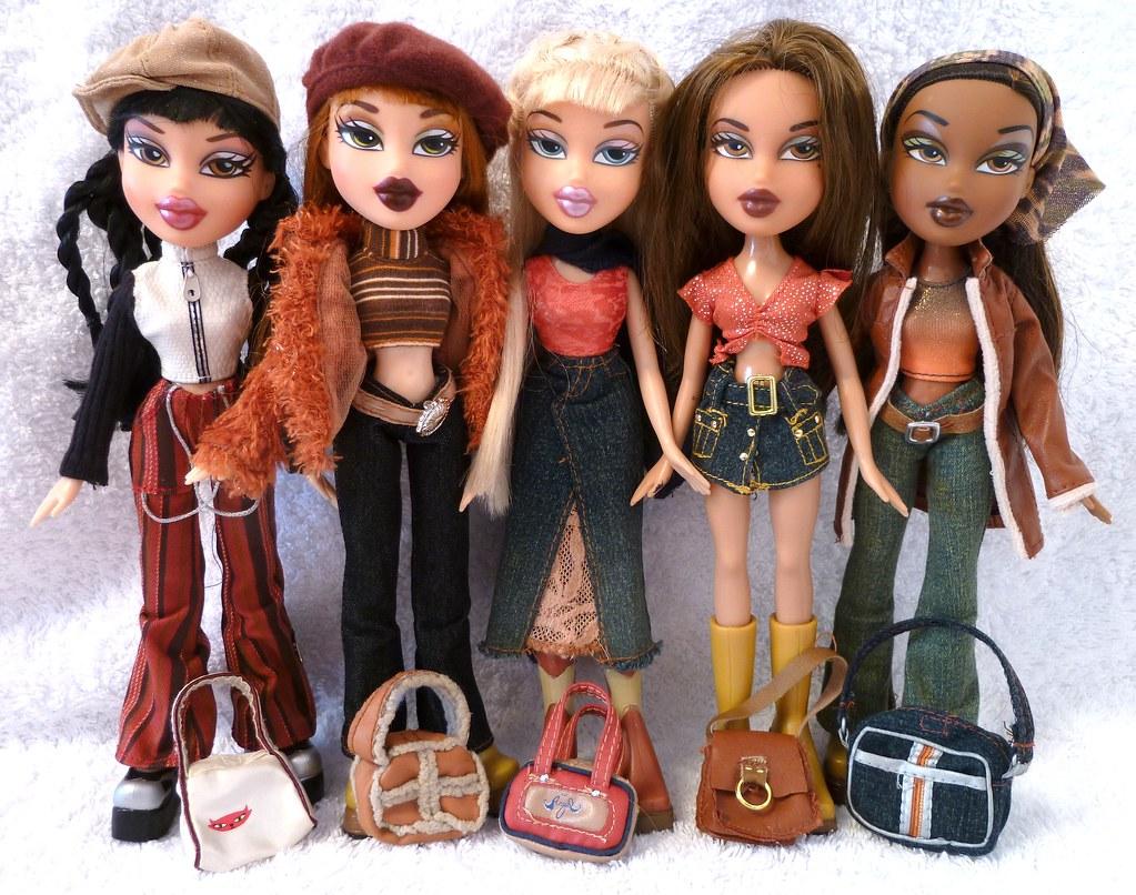 Bratz xpress it dolls jade meygan cloe yasmin sasha all flickr Bratz fashion look and style doll