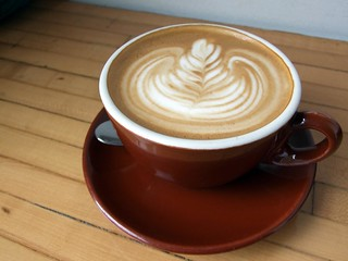 Soy Latte from Dark Horse Espresso Bar | by MeShell.ca