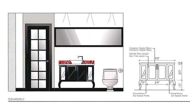 l vation salle de bain baroque moderne explore. Black Bedroom Furniture Sets. Home Design Ideas