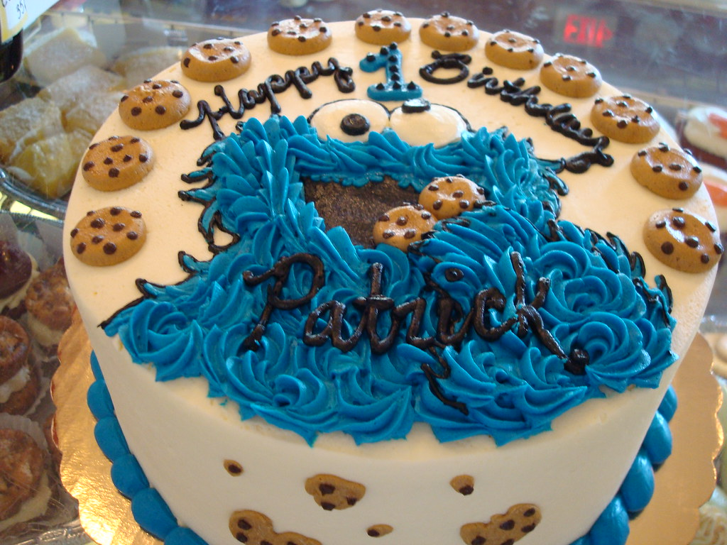 Society Bakery Cookie Monster Cake | SocietyBakery | Flickr