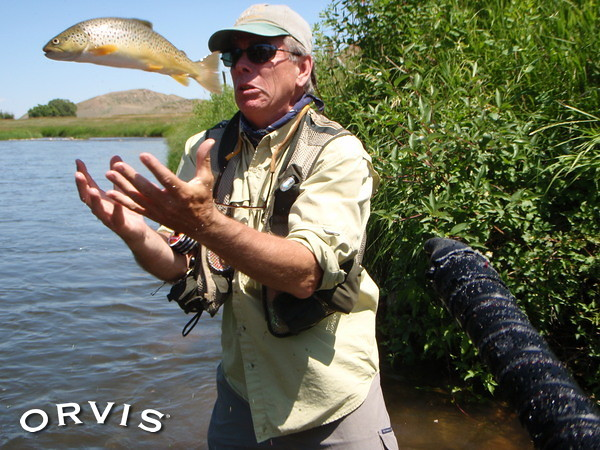 Orvis fly fishing contest slipper when wet trout for Orvis fly fishing blog