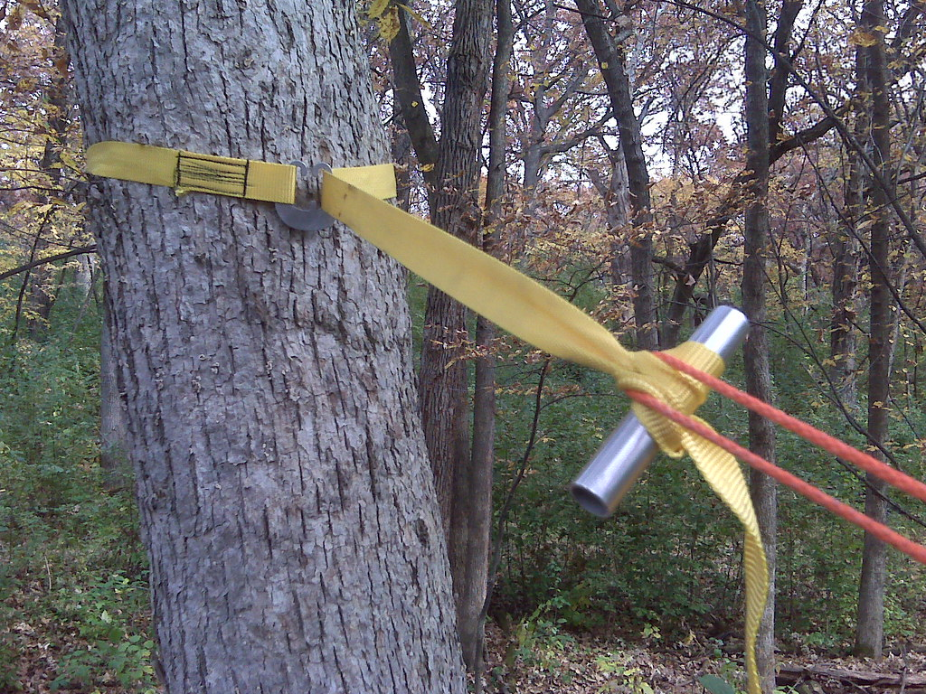 Marlinspike Hitch And Diy Toggle This Rather Ugly Tree