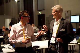 @Vendorprisey (aka Thomas Otter) and Sig at SAP Teched 2010 | by Tom Raftery