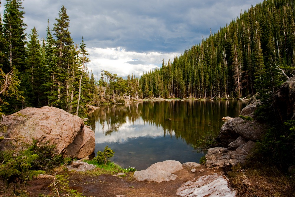 Dream Lake Rocky Mountains Olyaa Busy Flickr