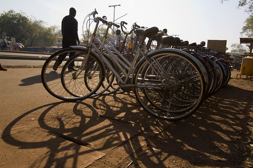 A row of bicyles | by World Bank Photo Collection