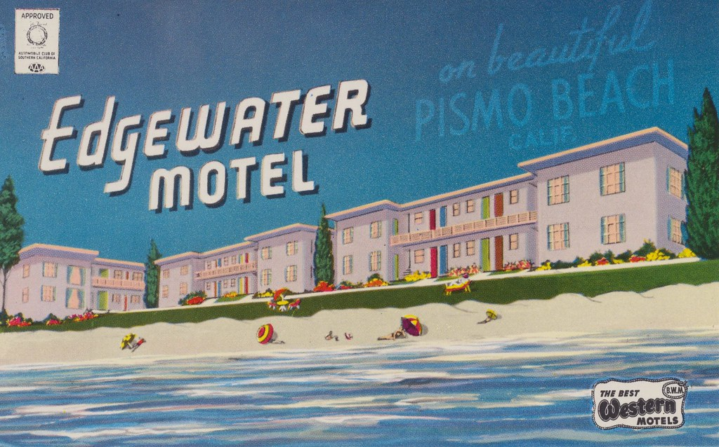 Edgewater Motel - Pismo Beach, California
