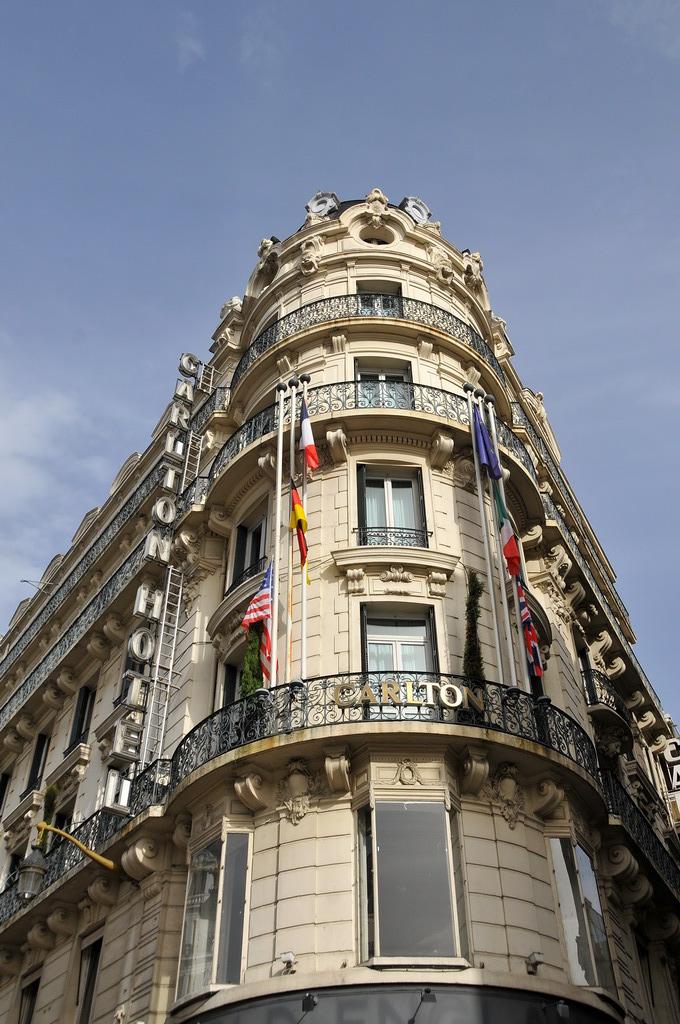 Hotel Mercure Carlton Rue Jussieu Lyon Met Uitzicht Op