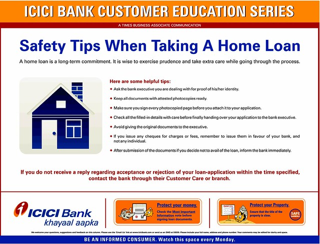 Icici Home Loan Repayment Statement