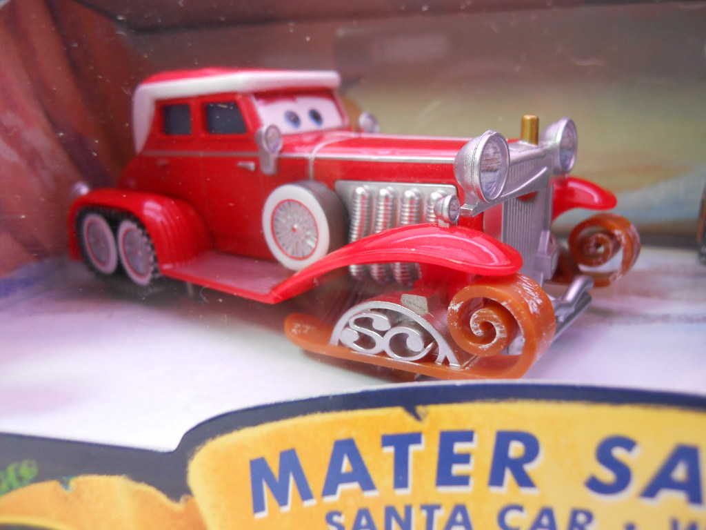 Toys R Us Toy Cars : Disney cars toys r us maters saves christmasd santa car w