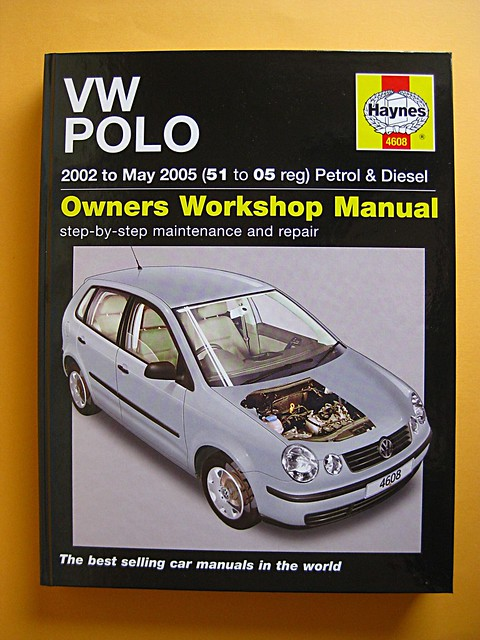 vw polo maintenance manual