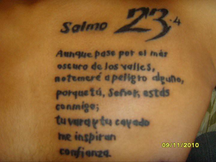 Top Salmo 23:4 / johan | Rolacio Ortiz | Flickr SP84