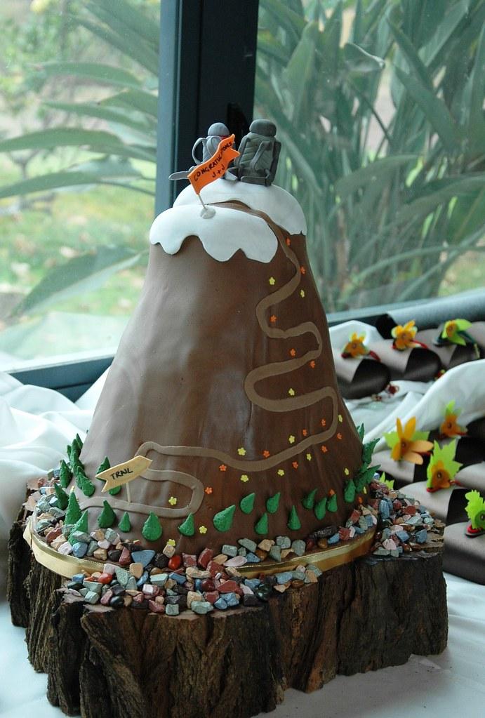 Mountain Cake Pan