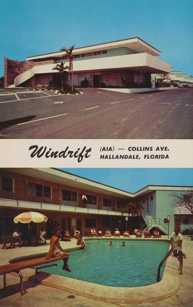 Windrift Motel - Hallandale, Florida