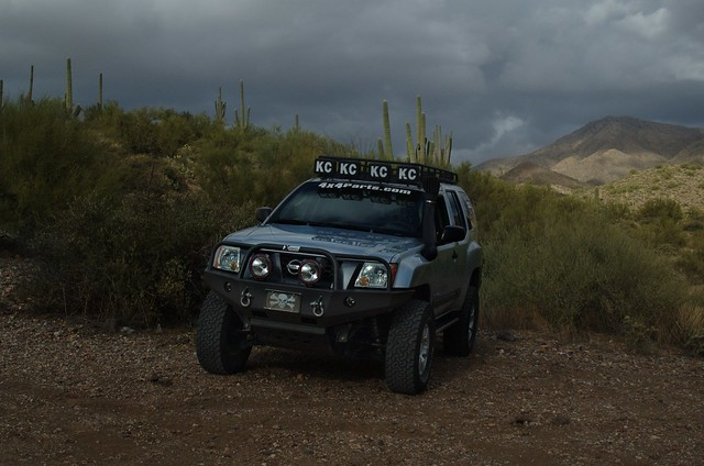 Az Ted S Titan Swapped Xterra Featuring The Xoskel Roof