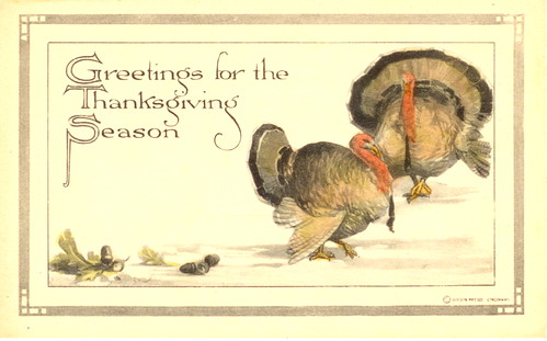 Vintage Thanksgiving Postcard | by bulldoggrrl