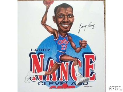 Larry Nance Cartoon | by Cavs History