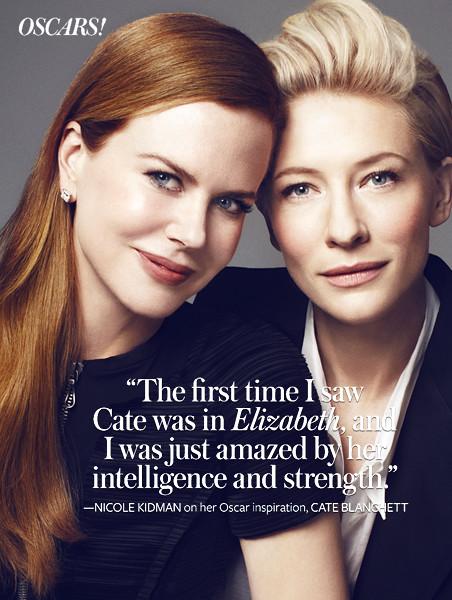 KAIZFENG TALENT - Oscar Portfolio: Nicole Kidman & Cate Bl… | Flickr Cate Blanchett