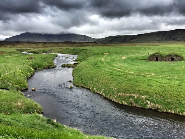 Entorno de Keldur en Islandia
