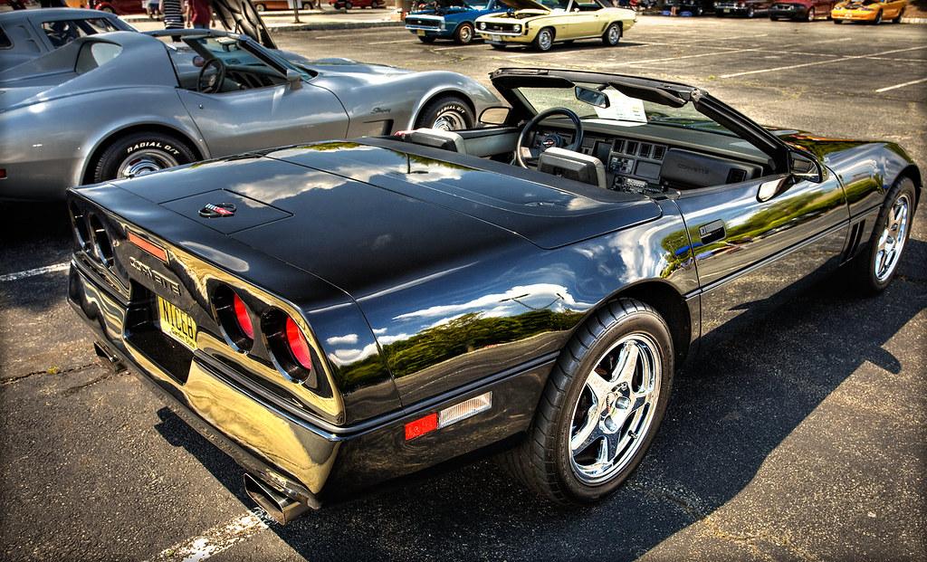 Corvette C4 A 1987 Chevrolet Corvette C4 Convertible
