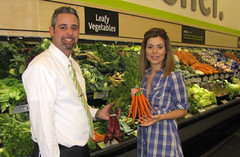 Eve Adams congratulates the owner of our new FreshCo grocery store | by Gary-Mississauga