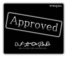 Approved my me
