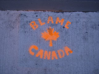 blame canada | by Cranky Old Mission Guy