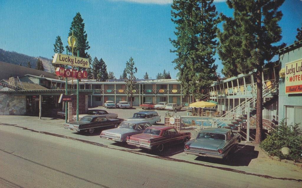 the cardboard america motel archive lucky lodge motel. Black Bedroom Furniture Sets. Home Design Ideas