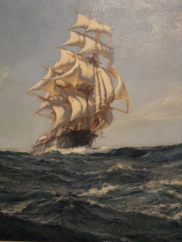 The Clipper Ship Brilliant by Montague Dawson (1895-1973) British Oil on Canvas | by mharrsch
