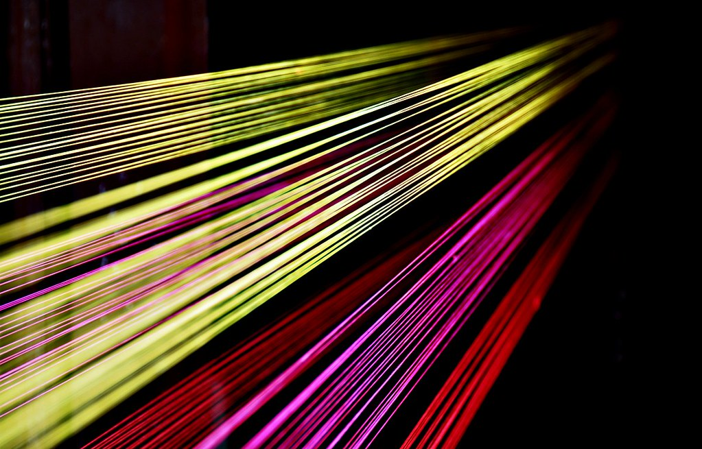 Kite String Lights : Kite lines Coloured string used to weave a kite line, in D? Flickr