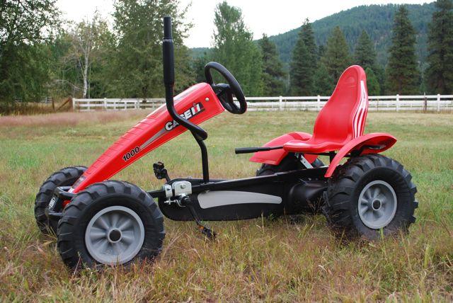 Case IH Berg Toys Pedal Go-Kart Side
