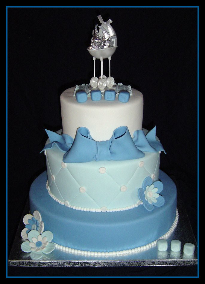 Baby Boy Shower Cake Well I Was Just About Ready To