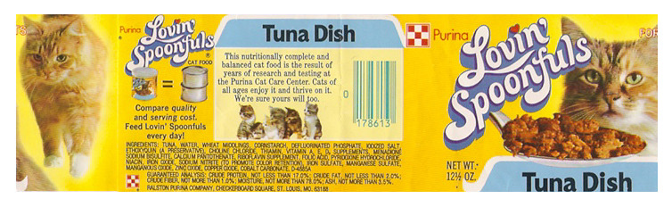 Pictures Of Dog Food Labels