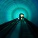 Trippy Tunnel in Shanghai