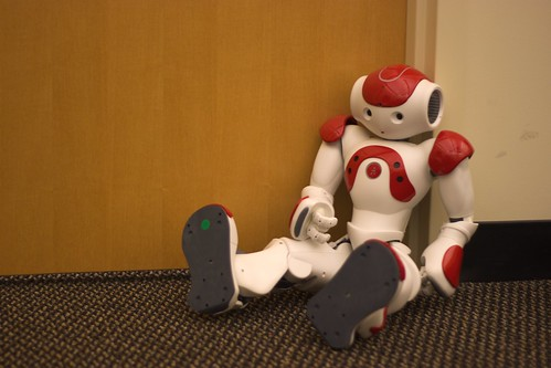 Nao humanoid robot at the Georgia Robotics and Intelligent Systems (GRITS) Lab, Georgia Tech