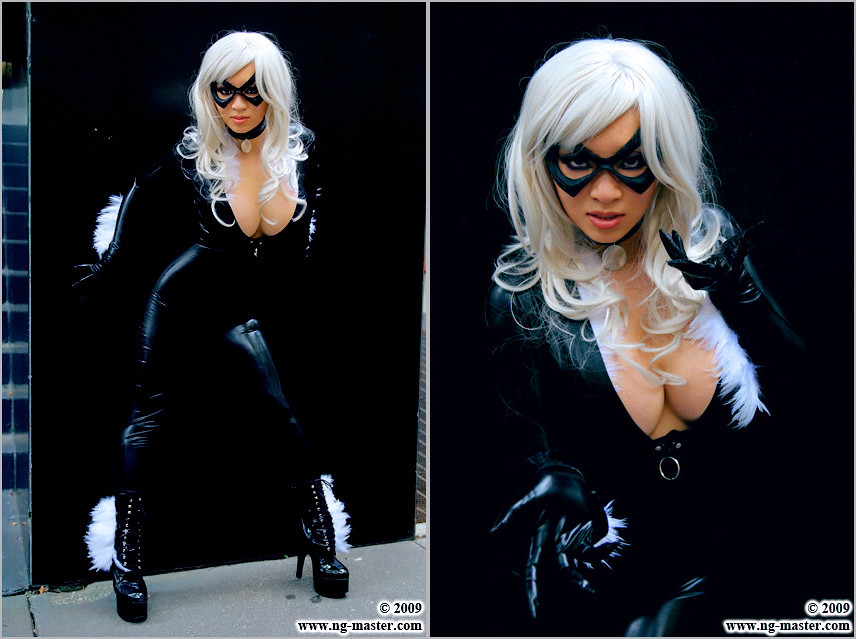 Blackcat15 Black Cat Spiderman Costume Made And Worn By Flickr