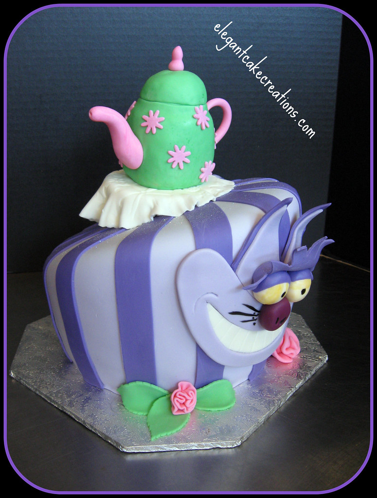 Cheshire Cat Birthday Cake