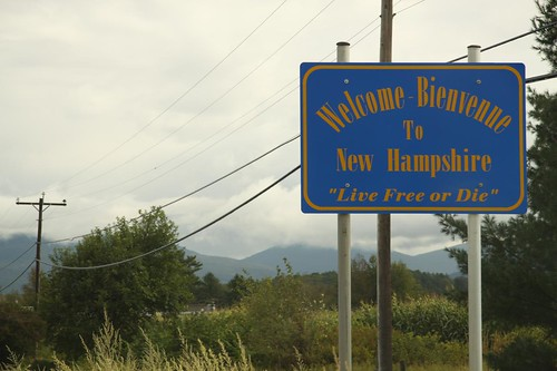 Welcome to New Hampshire | by Sr. Samolo