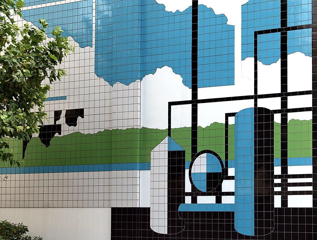Tile Mural White Magnolia Jz Kitchen Backsplash Ideas