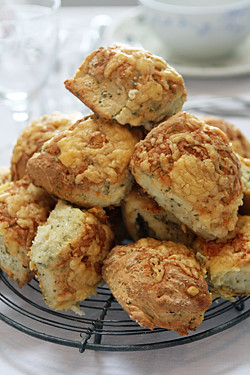 cooling rack of scones | by David Lebovitz
