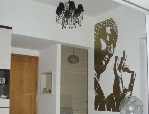 ... Custom Buddha Decal | By Decorette Wall Decals